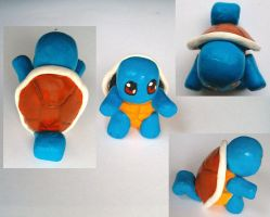 Clay Squirtle by RaCHaeBBy