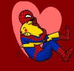 SpideyXPikachu .:Valentine's Day:. by Spark-the-Mutt