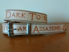 Assassins Creed credo belt by gevar
