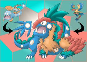 Huntail and Archeops fusion