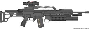badass assault rifle by TooawesomeANKER