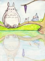 Totoro by Bene-hime