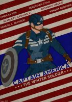 Captain America: American Flag Variant by GTR26