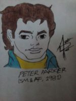 Peter Parker (SM and Amazing Friends, 1981) by augustomp96