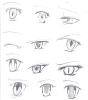 Anime eyes 1!! by TheAwesomeness0330