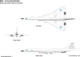 BAC Concorde Bomber (Bombcorde) by GeneralTate