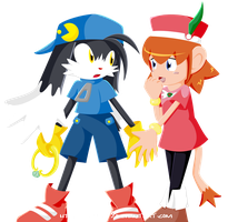 Klonoa, wait... by chao93
