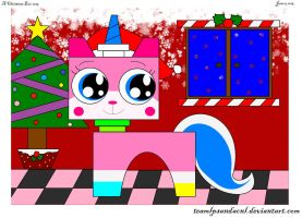 Merry Christmas Unikitty 2015! by teamlpsandacnl