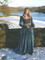 Medieval gown by Abigial709b