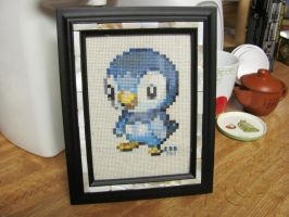 Piplup - Pokemon Cross Stitch by SyunFung