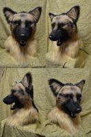 DZ Deathrays German Shepherd - Dark by temperance