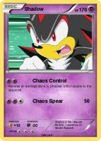 Sonic Pokemon Cards-Shadow by Qulli2