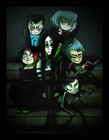 The Vamp Kids by DollCreep