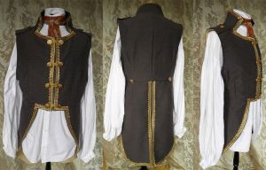 Victorian-Steampunk inspired tailcoat PCT4-2 by JanuaryGuest