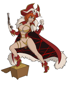 Space Pirate Lalaco by MartianBean