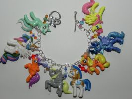 My Little Pony Frienship is Magic Bracelet by Secretvixen