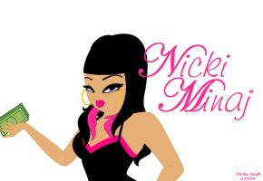 Nicki Minaj by MatthewMw