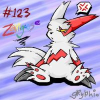 Ziggy teh Zangoose thing by Meant2BeGone