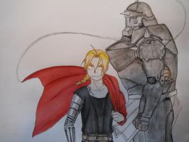 The Elric Brothers by DizzyDallas