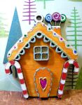 Gingerbread House by Ideas-in-the-sky