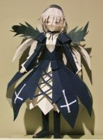 Suigintou Papercraft from Rozen Maiden by x0xChelseax0x