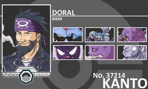 Trainer - Doral by Pokemon-League
