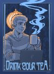 Sherlock: John Suggests Tea by dauntingfire