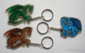 Keychains for BJ and Narivarne by Dragarta
