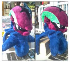Accelgor plush by LRK-Creations