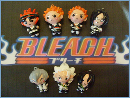 Chibi-Charms: Bleach by MandyPandaa