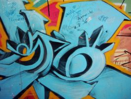 graffiti swirl. by blottingpaper