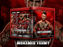 WWE Battleground 2013 blu-ray Cover by Mohamed-Fahmy