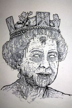 Zombie Queen by ReVerbaration