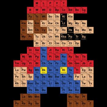 Periodic Mario Table by Design-By-Humans