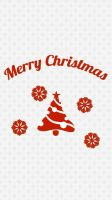 Christmas iPhone Wallpaper by vmitchell85