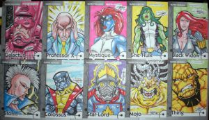 Marvel Retro Cards 02 by WOLVERINE76