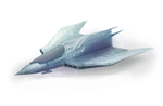 Ship Concept 02 by FractalMoon