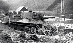 Destroyed King Tiger tank (Tiger II) by ShitAllOverHumanity