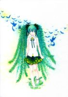 Vocaloid : Tree Miku by chronosIV