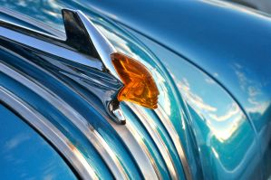 52 Pontiac Hood Ornament by theCrow65