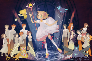 Card Captor Sakura Group by hinoraito