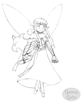 Late Gift 1 -Aria the Fairy- by GamingGirl73