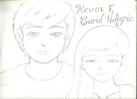 Kevin and I by AngelValkyrie23