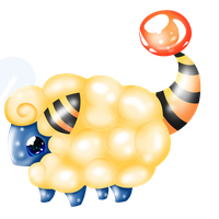 mareep by Squishy-Squash-Squid