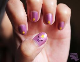 Oh my glob, nail art! by xcalixax