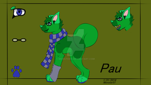 Pau Reference sheet by Monster51