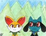 Pokemon Super Mystery Dungeon: Together by TheAngelux22