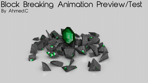 Minecraft Block Breaking Animation by iTzSnD