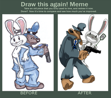Before n After: Freelance Police by TheOctoberScarf