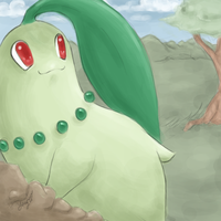 chikorita by Squiggums